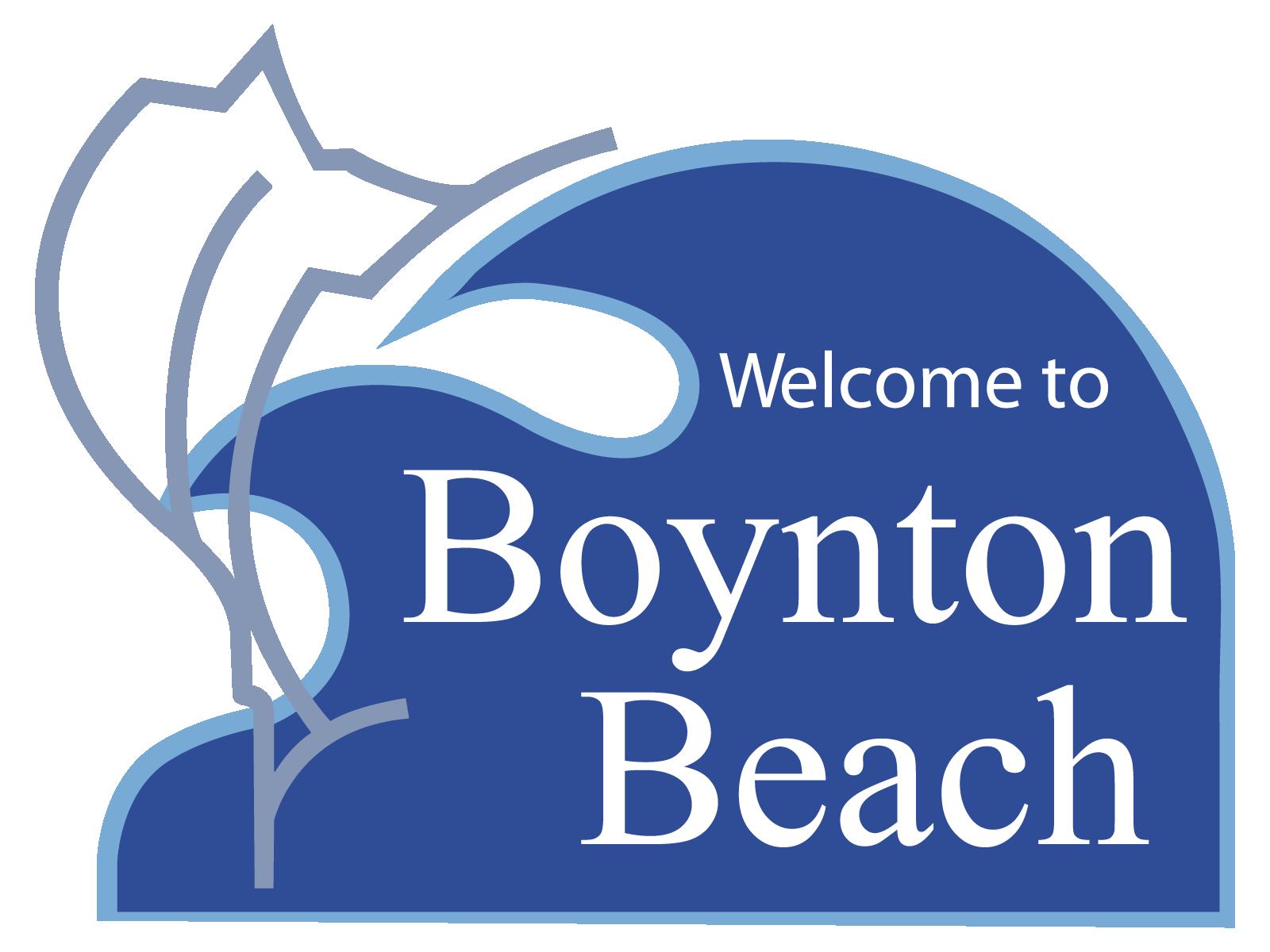 Welcome to Boynton Beach Logo