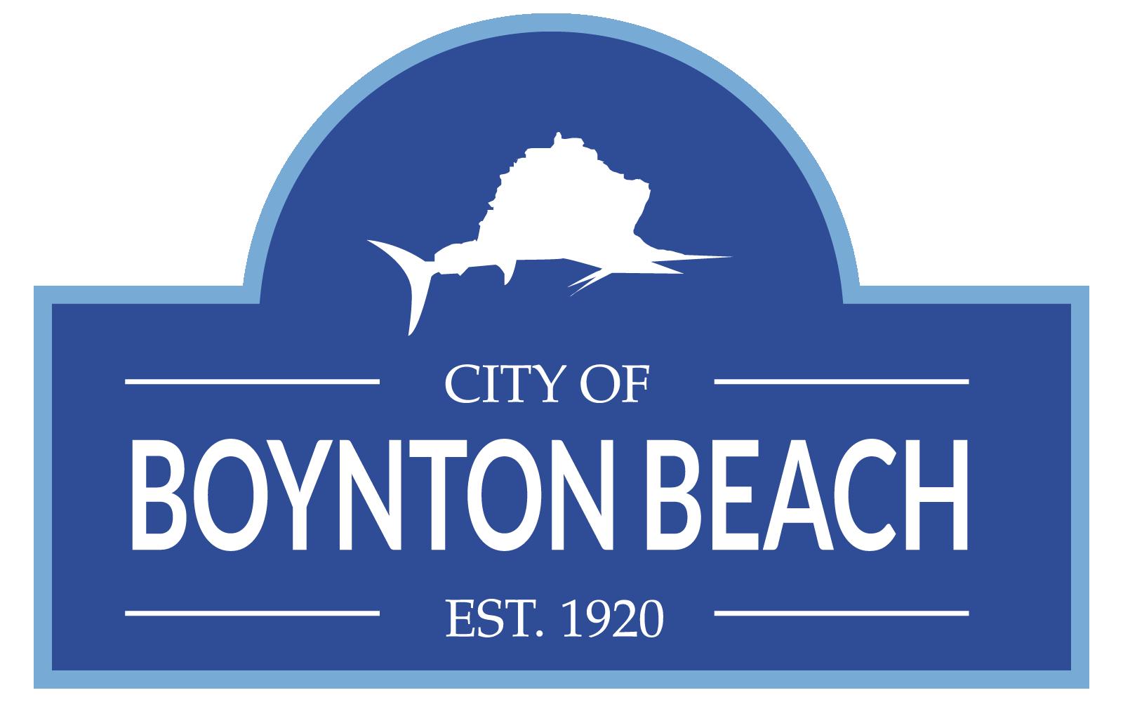 City Of Boynton Beach Est. 1920 Logo