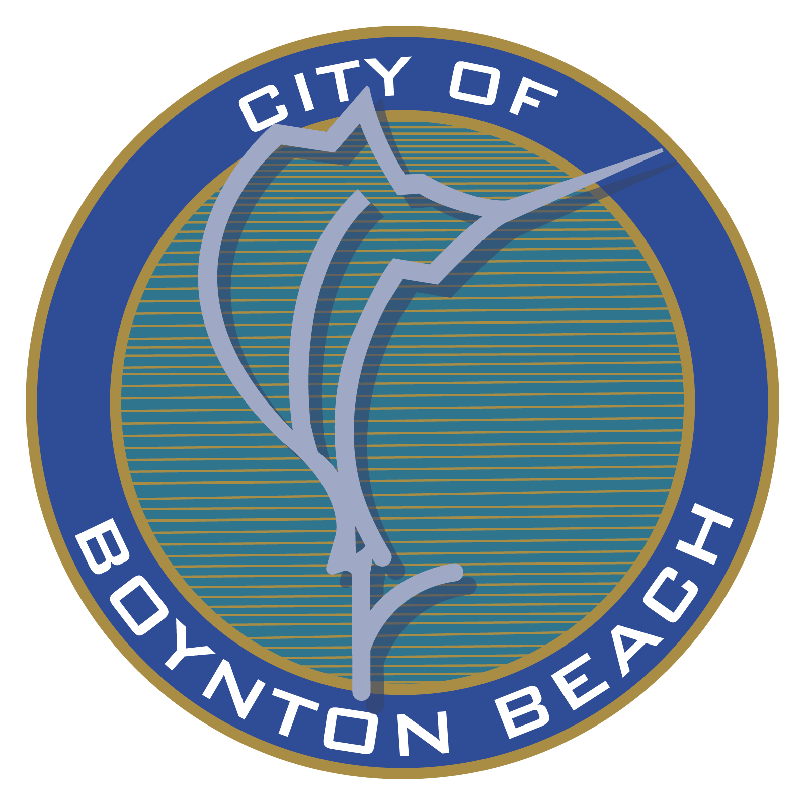 City of Boynton Beach Circle Logo