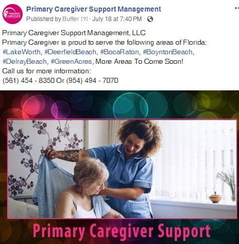 Primary Caregivers Facebook Post 3