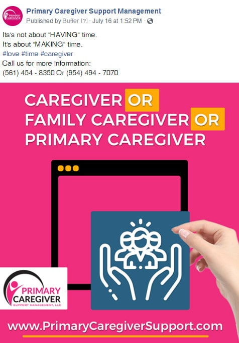 Primary Caregivers Facebook Post 4