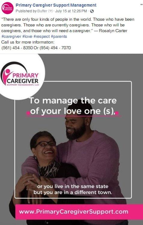 Primary Caregivers Facebook Post 5