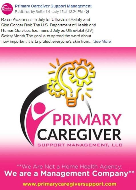 Primary Caregivers Facebook Post 6