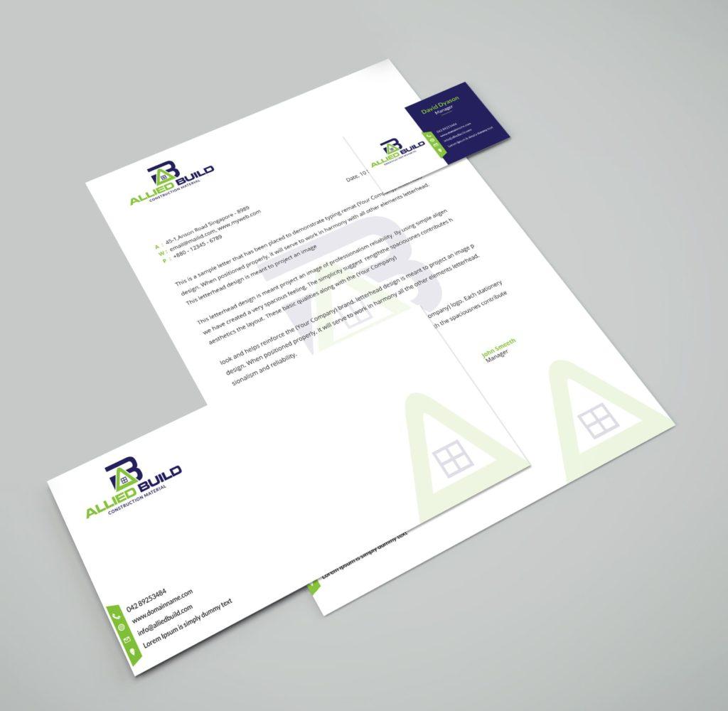 Letterhead Design - Presentation