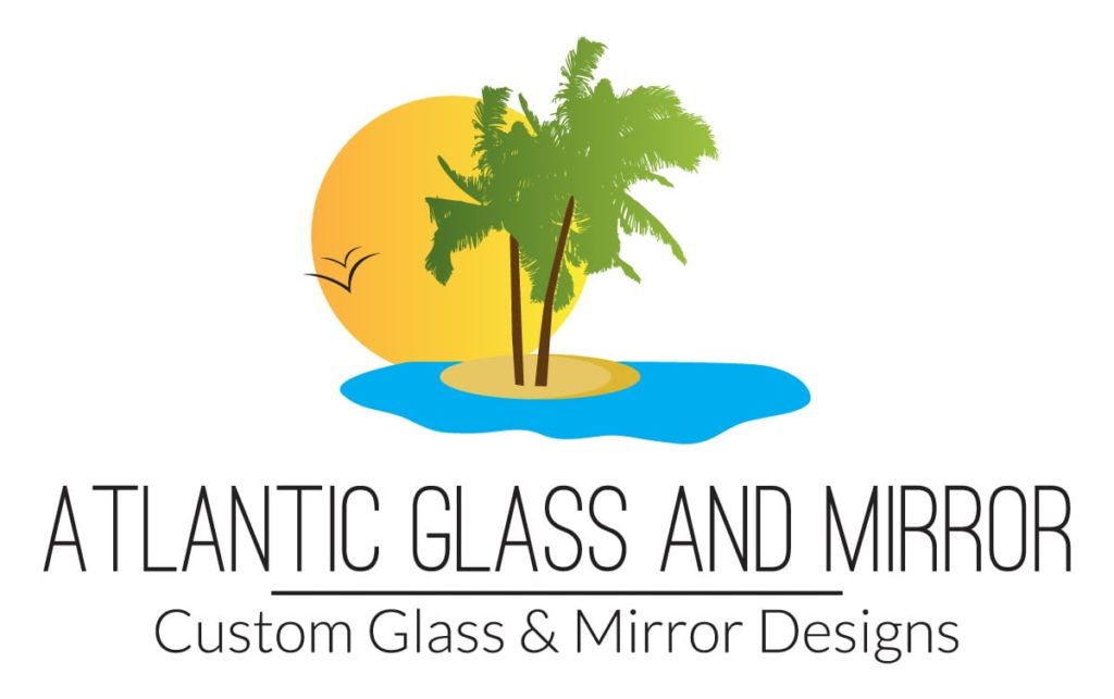 Atlantic Glass and Mirrors Logo Design