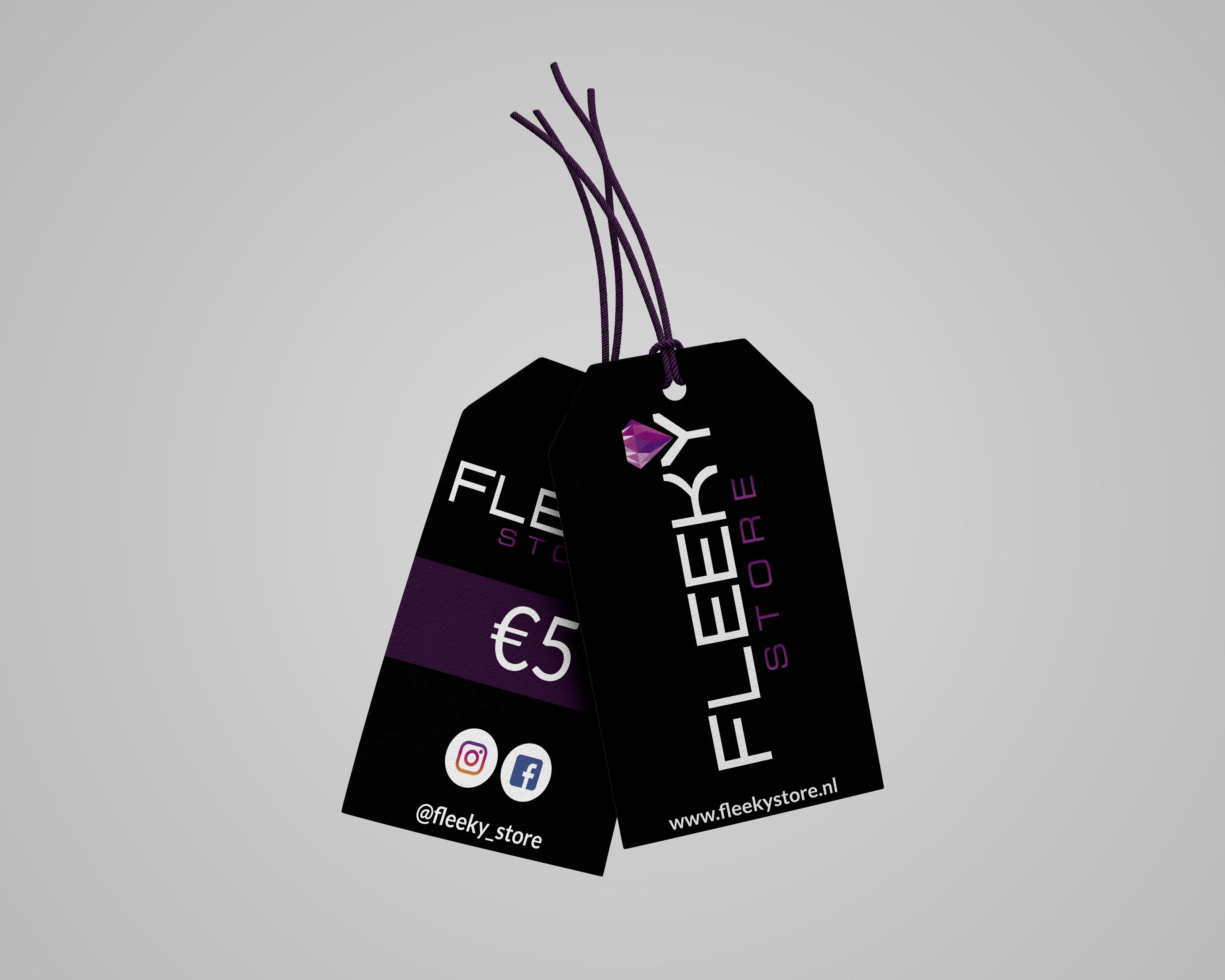 FLEEKY Price Tag Design