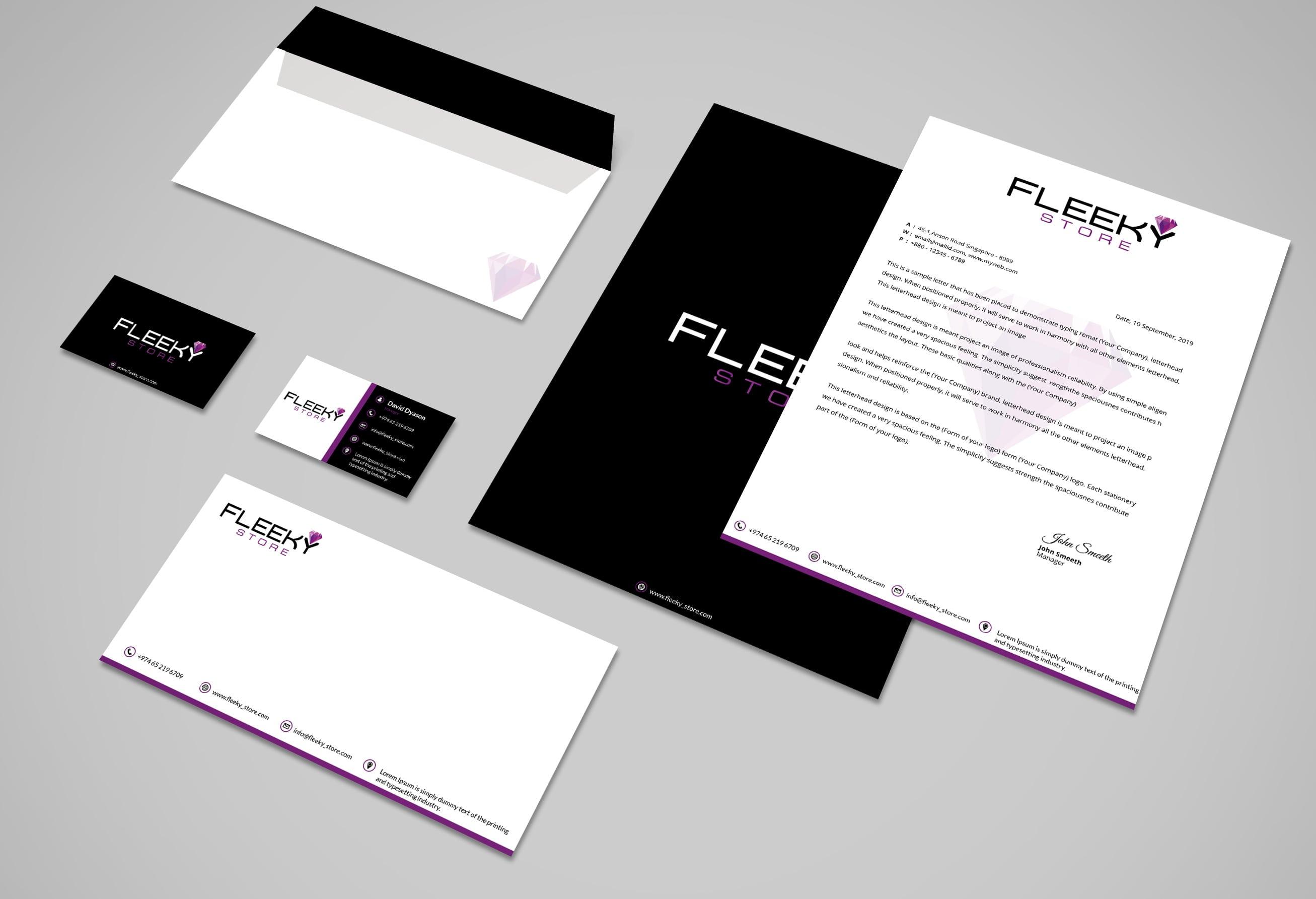 FLEEKY Stationary Set