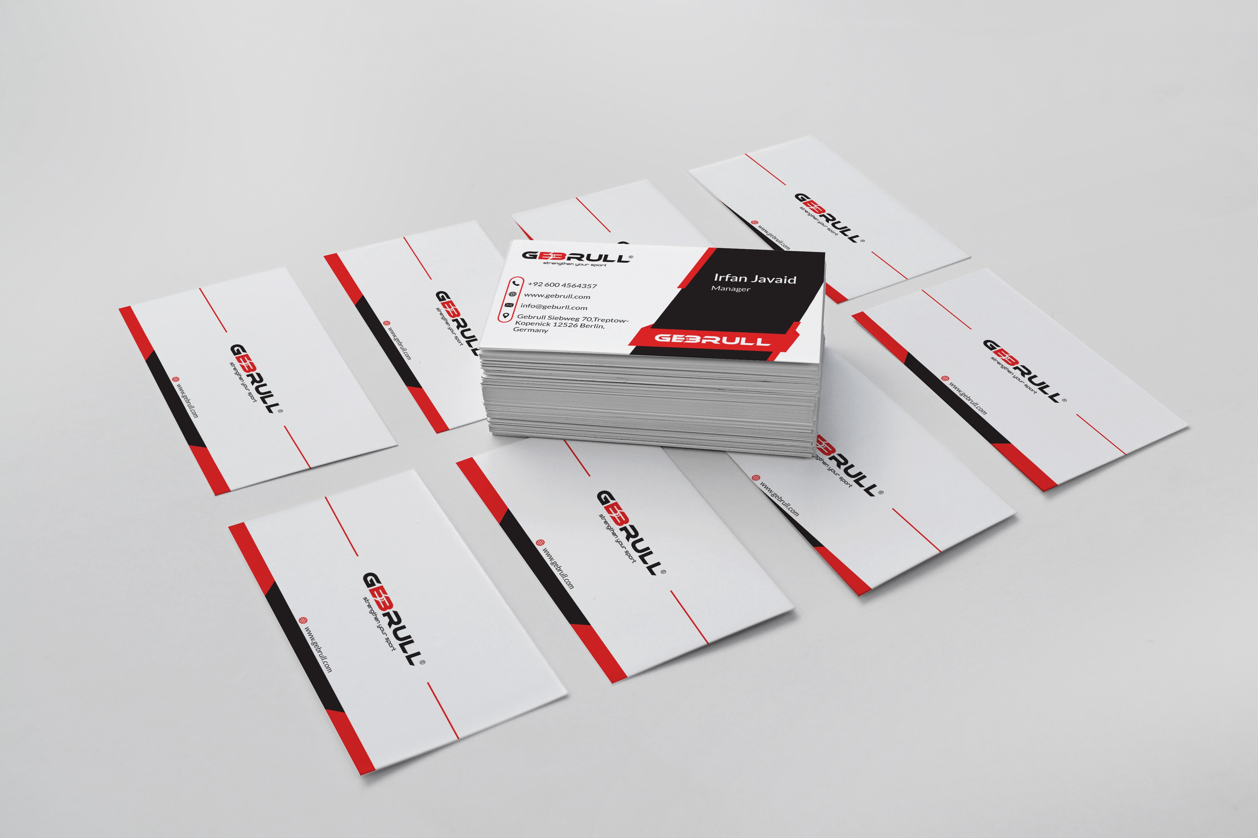 GebRull Business Card Design