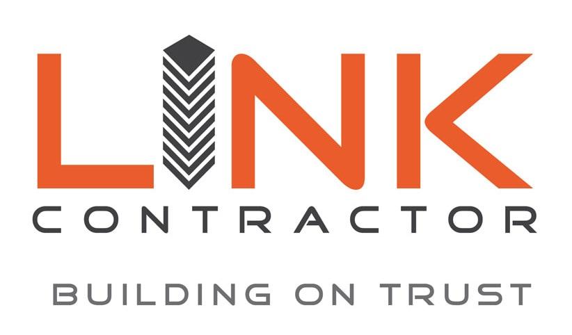 Link Contractor Logo Design