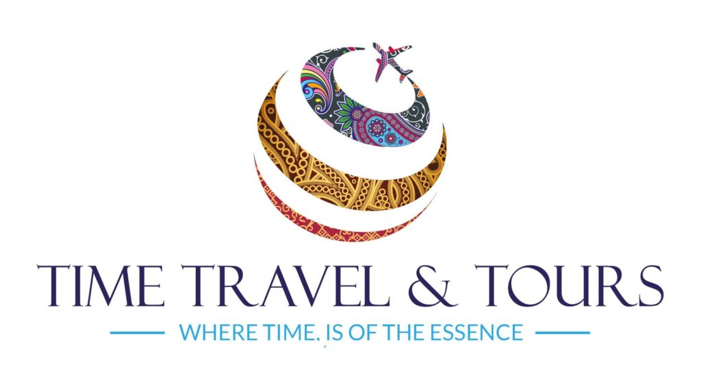 Time Travel and Tours Logo Design