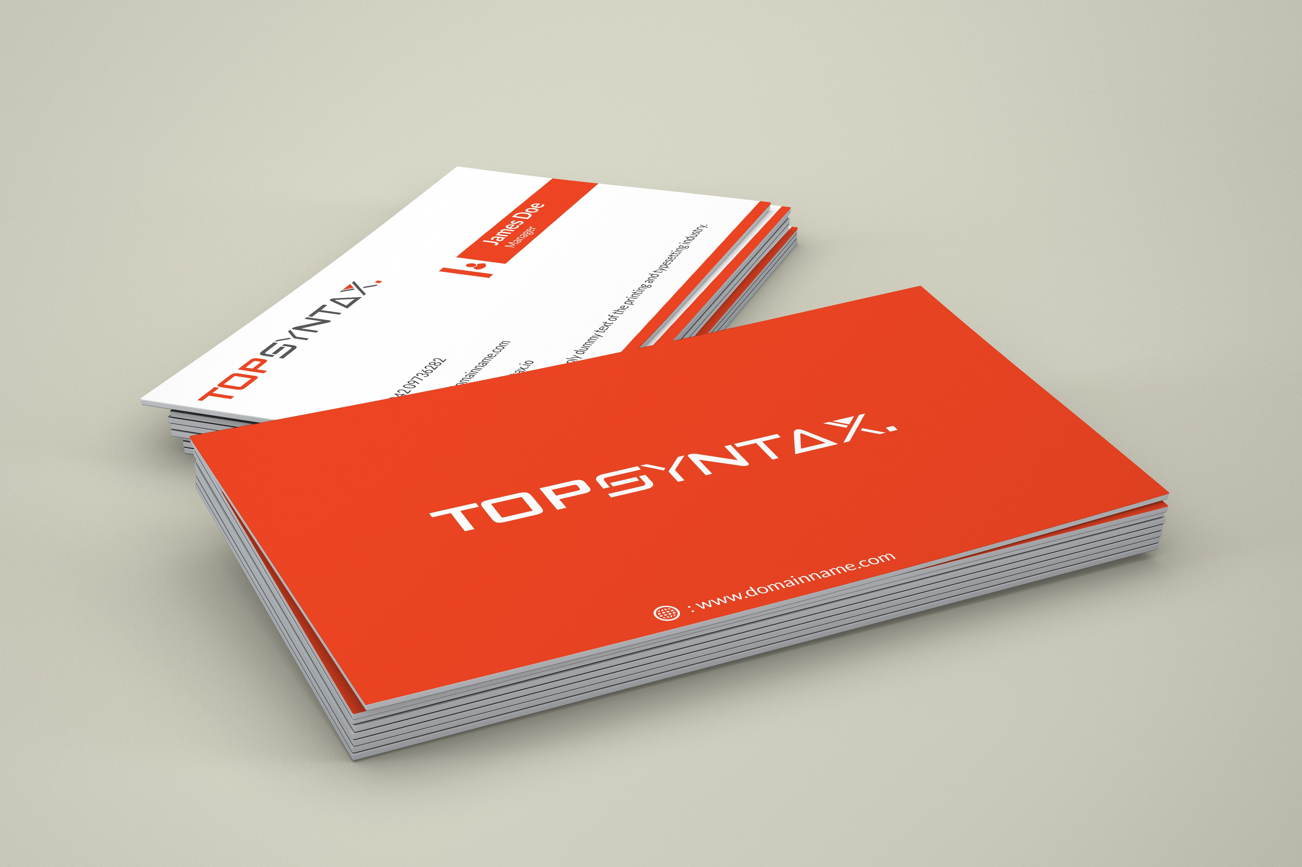 Top Syntax Bussiness Card