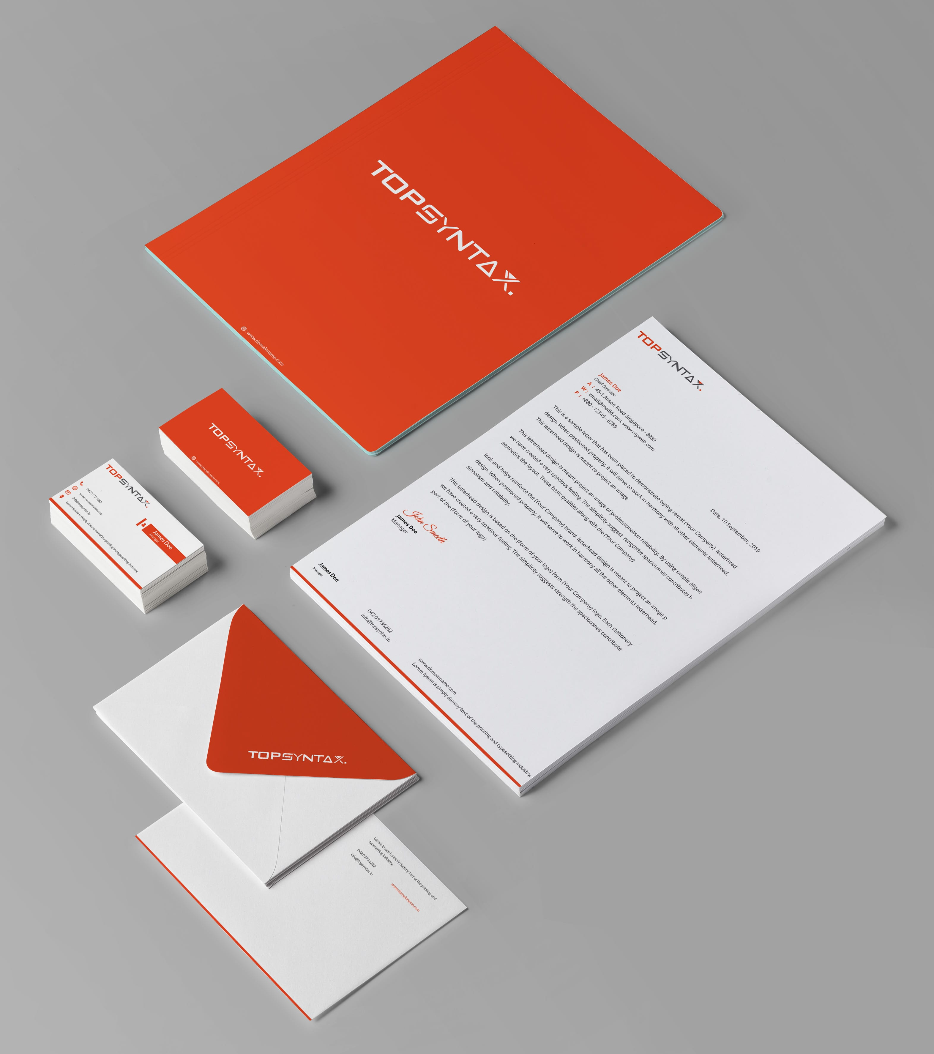 Top Syntax Stationary Complete Set