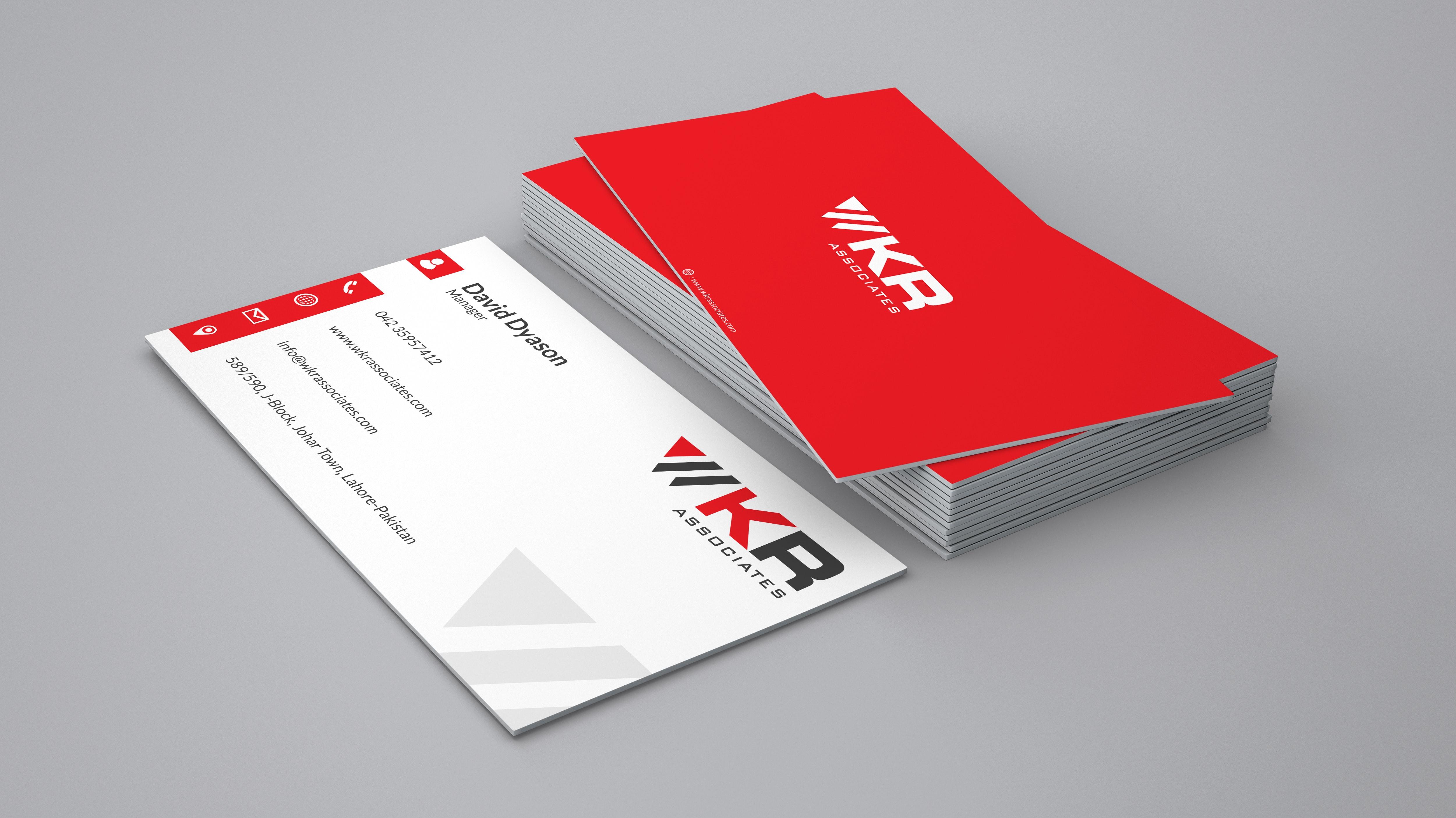 WKR Associates Business Card