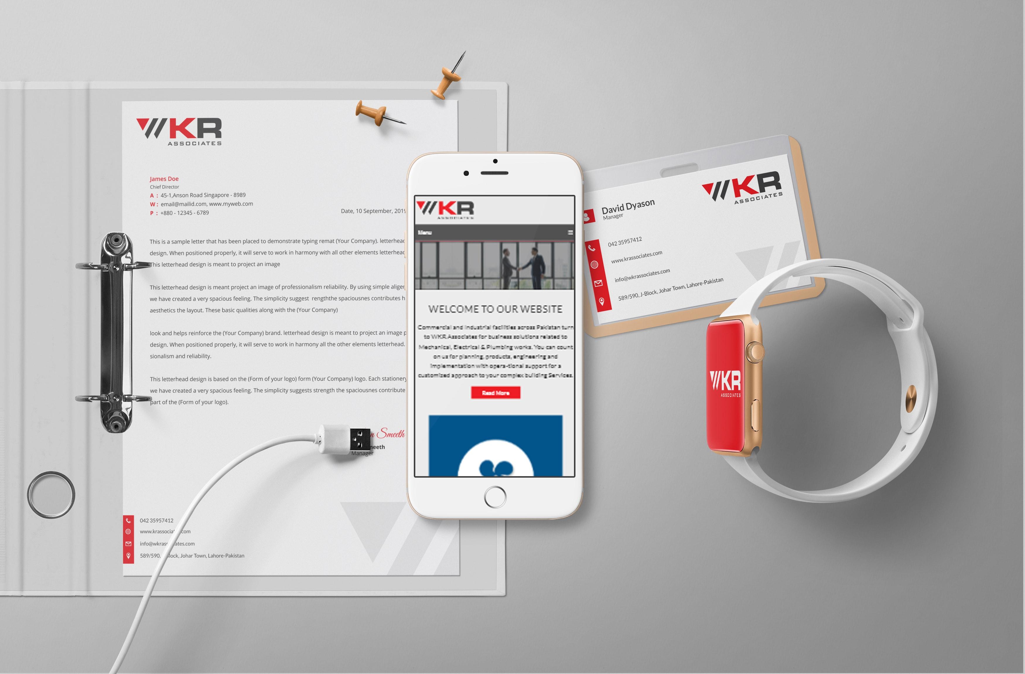 WKR Associates Branding