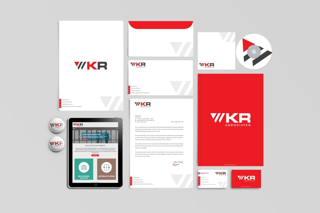 WRK Associates Stationary Design
