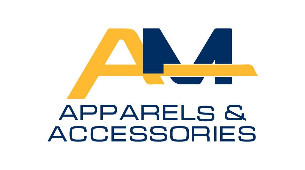 A & M Apparel and Accessories Logo Design